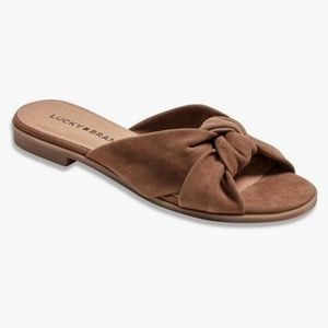 LUCKY BRAND Knotted Slides